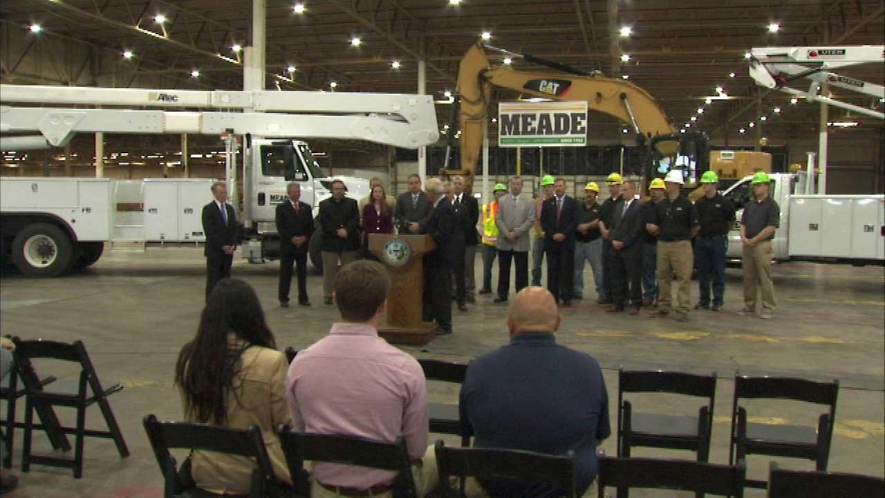 Meade Electric Company is moving its headquarters from McCook to Chicago.
