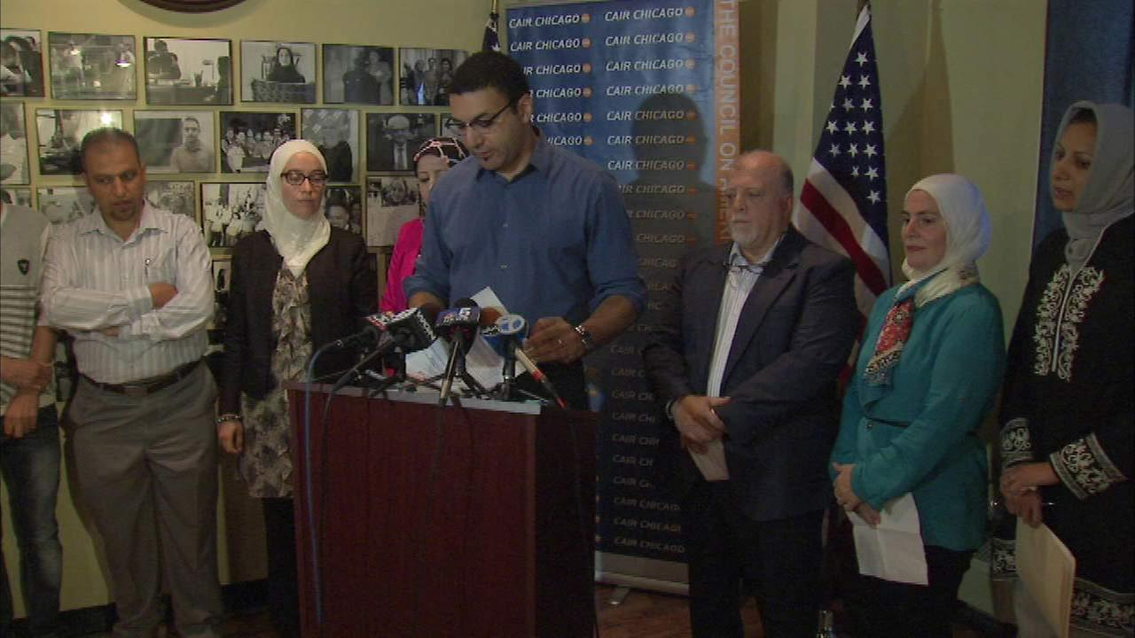 Local group calls on US to allow 100,000 Syrian refugees into the country