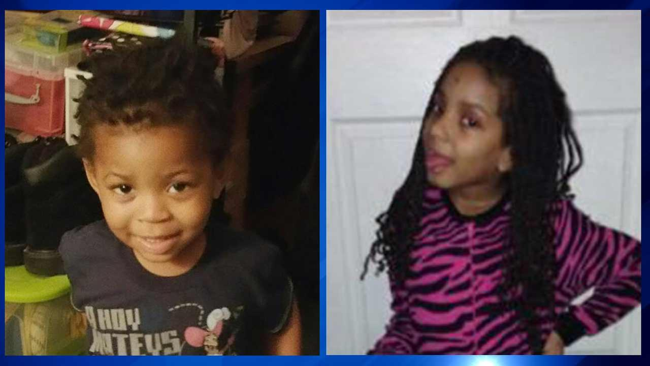 Damarrion Runles, 2 (left), Dekaylah Runles, 7