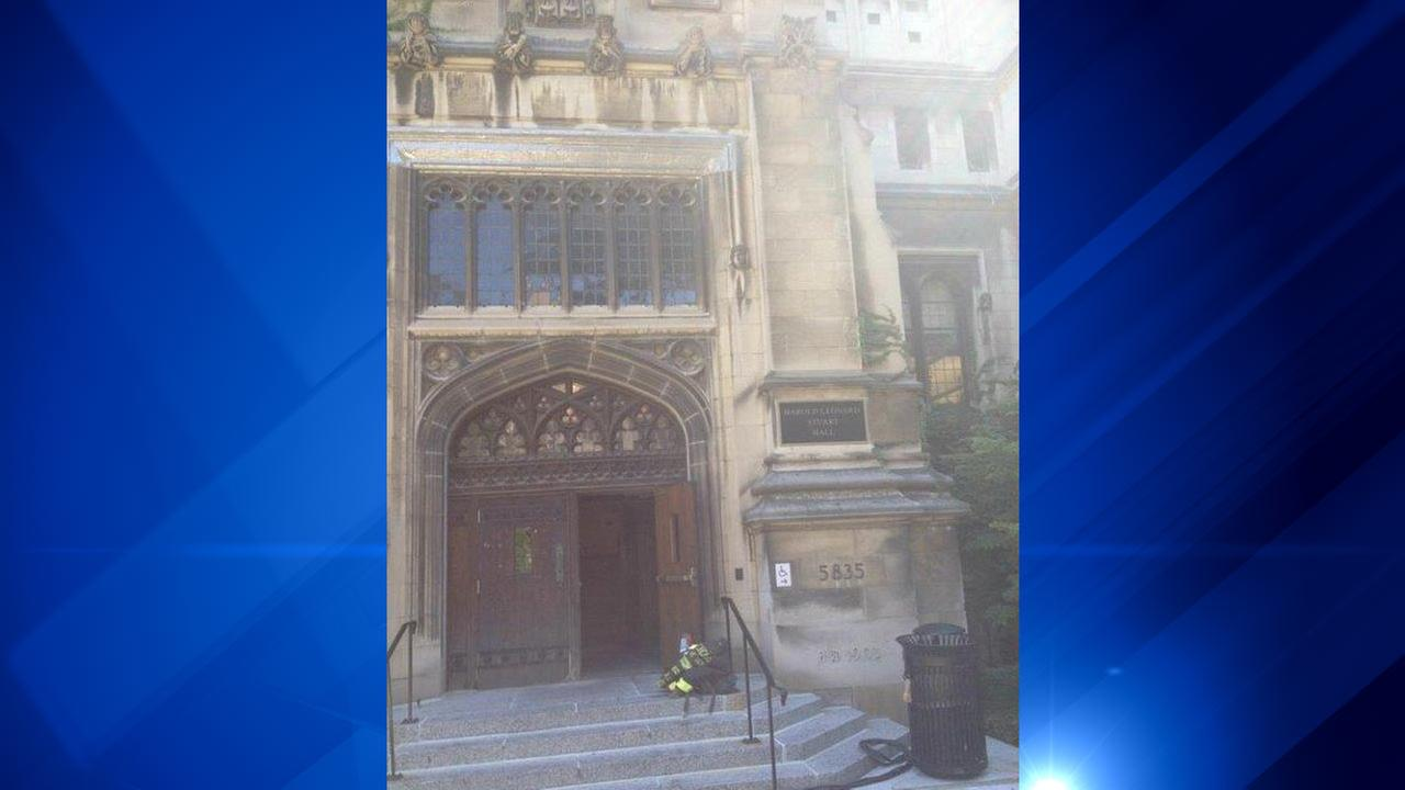 Small fire struck out at University of Chicago building