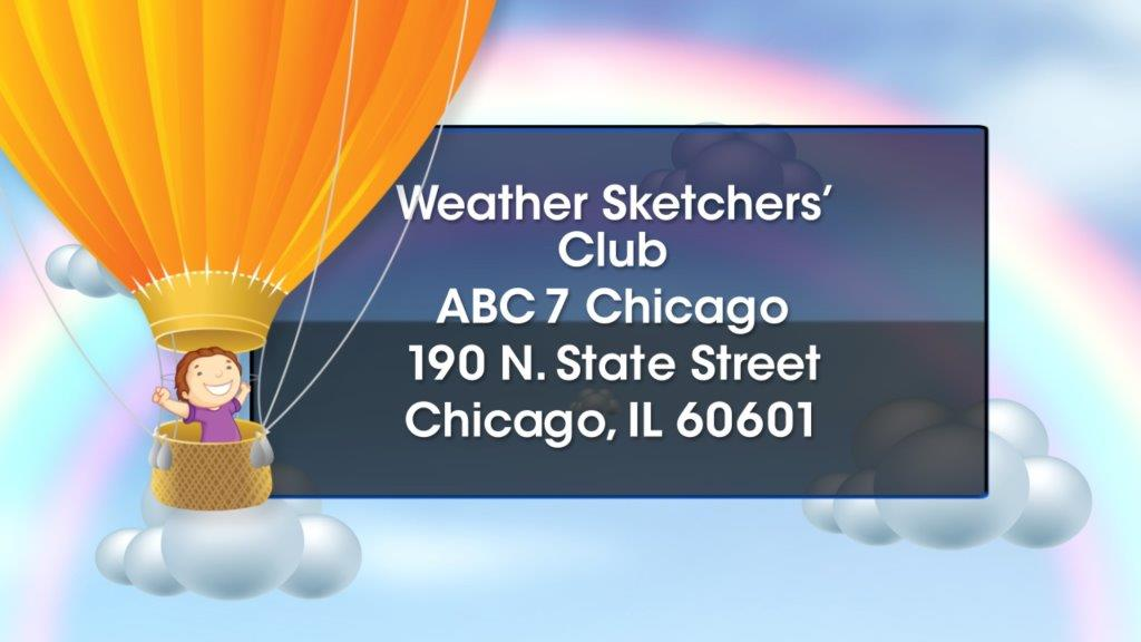 Submit a drawing to the Weather Sketchers Club