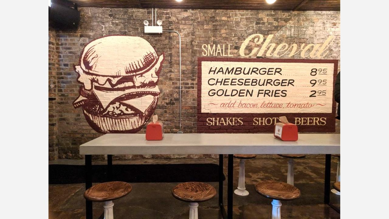 'Small Cheval' makes Old Town debut, with burgers and more