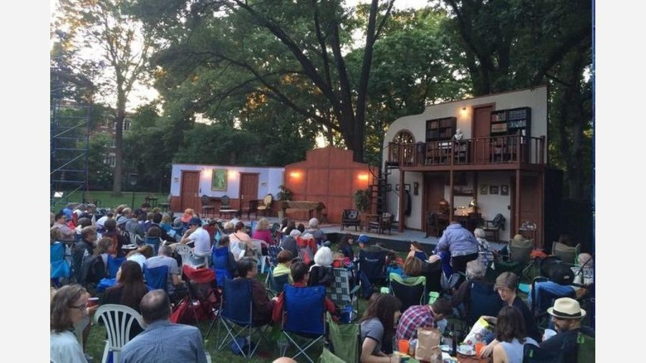 Oak Park Festival Theatre in Austin Gardens. | Photo: Tim W./Yelp