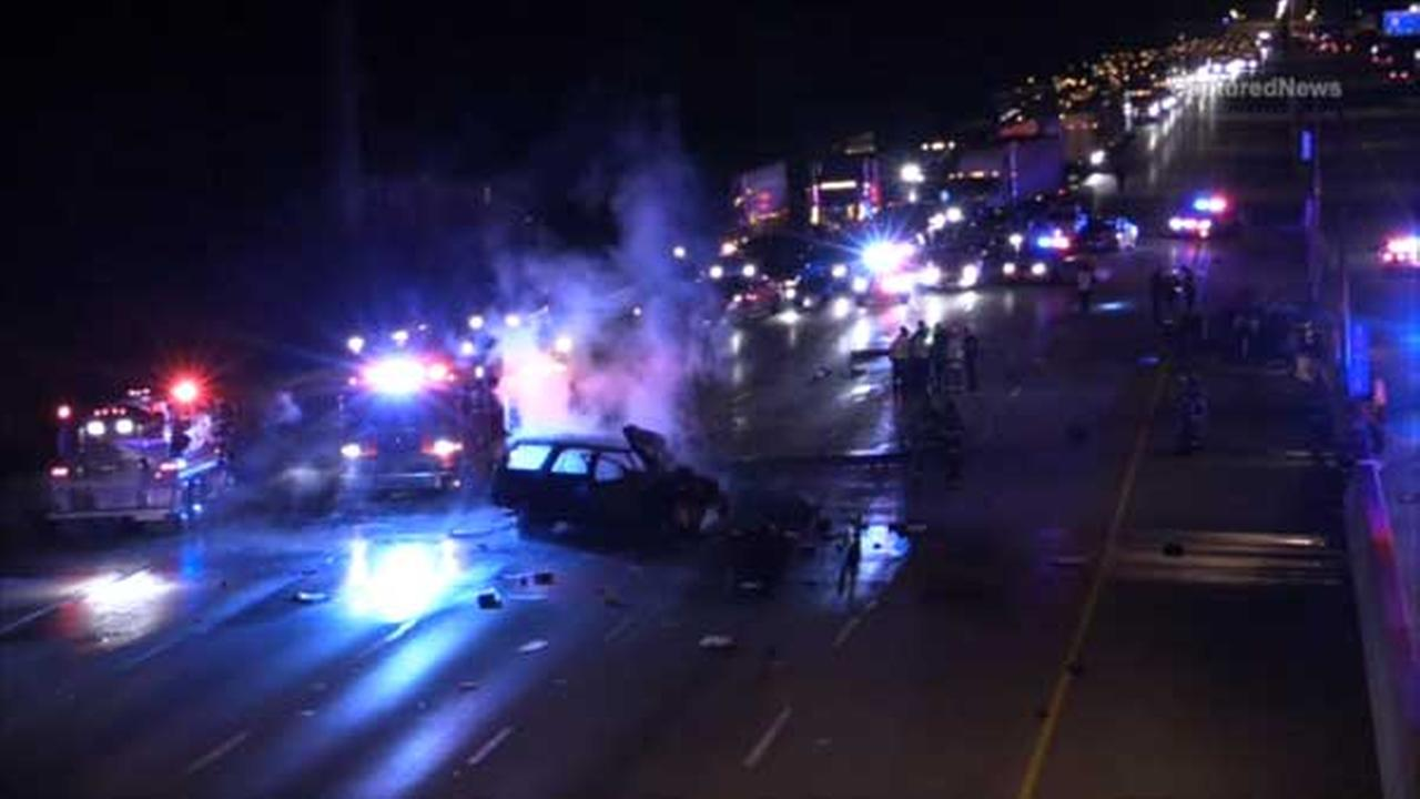 A deadly crash is causing major delays on eastbound I-80/94 near Chase Street in Gary, Indiana.