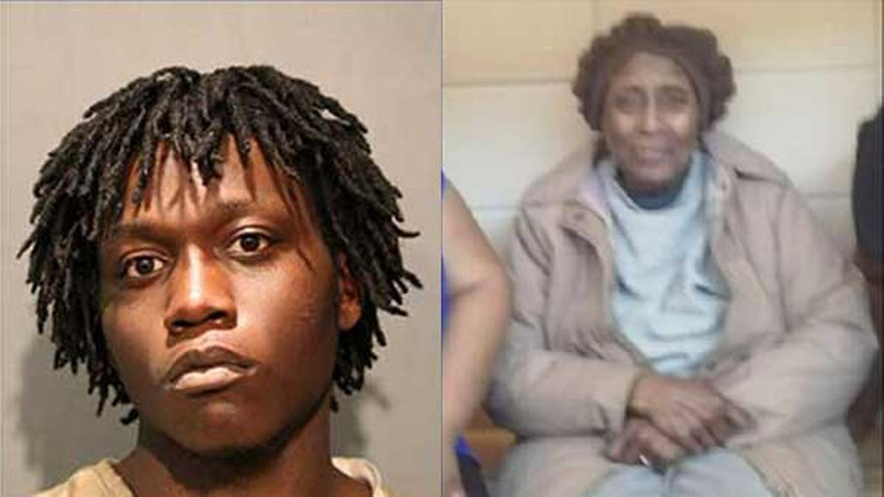 Trae Chatmon, 18, was charged with first-degree murder in the stabbing death of Josephine Johnson, 89, in Chicagos Washington Park neighborhood.