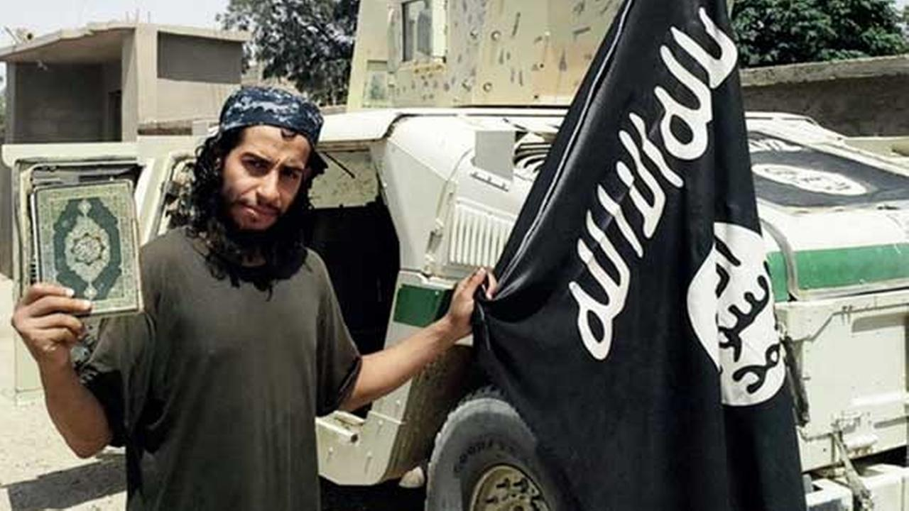 This undated image made available in the Islamic States English-language magazine Dabiq, shows Abdelhamid Abaaoud.