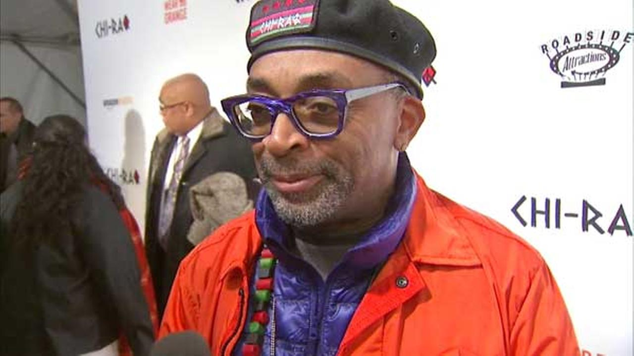 Spike Lee Chi-Raq stars to answer questions about film