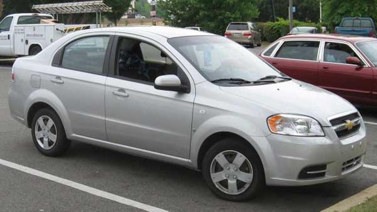 Investigators are looking for a 2007 Chevrolet Aveo that looks like the vehicle in this photo. It belonged to a man, 27, who was murdered in West Chicago.