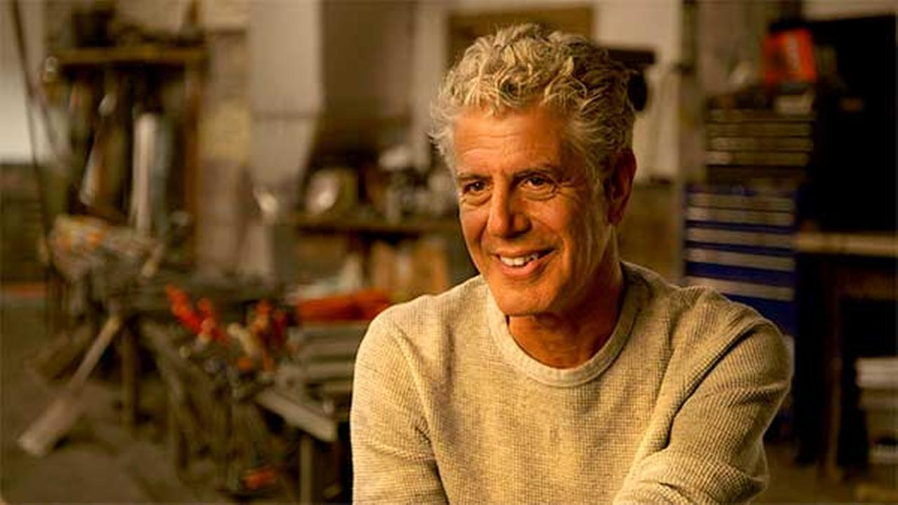 Chef, author and television host, Anthony Bourdain, stops by the Windy City LIVE studio to chat about his latest endeavor.