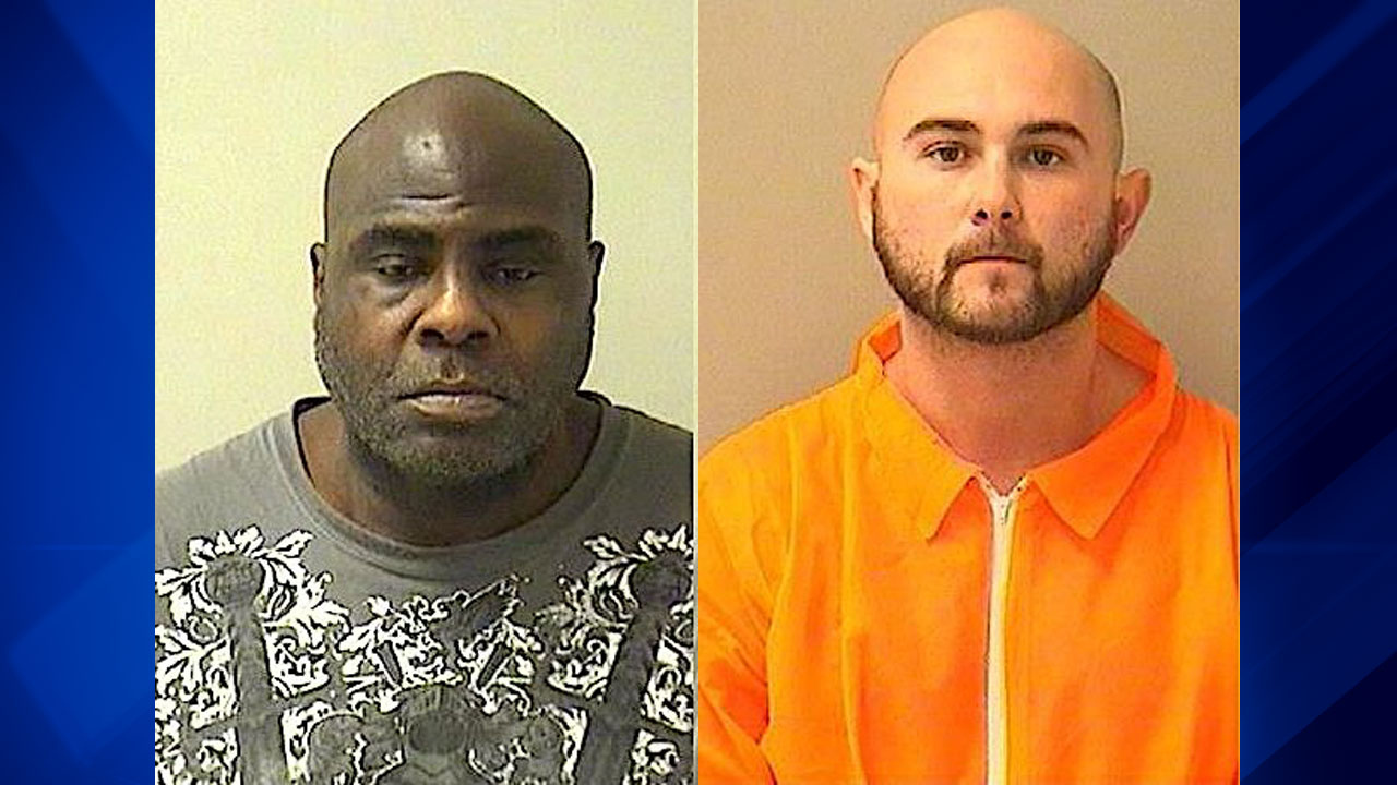 Lamelle Johnson and James Glover were charged following a drug bust in Carpentersville on Nov. 2.