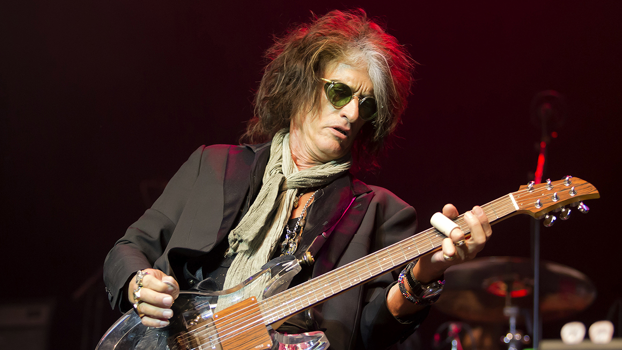 Joe Perry performs with Joe Perry and Friends at the House of Blues on Wednesday, April 18, 2018 in Boston.