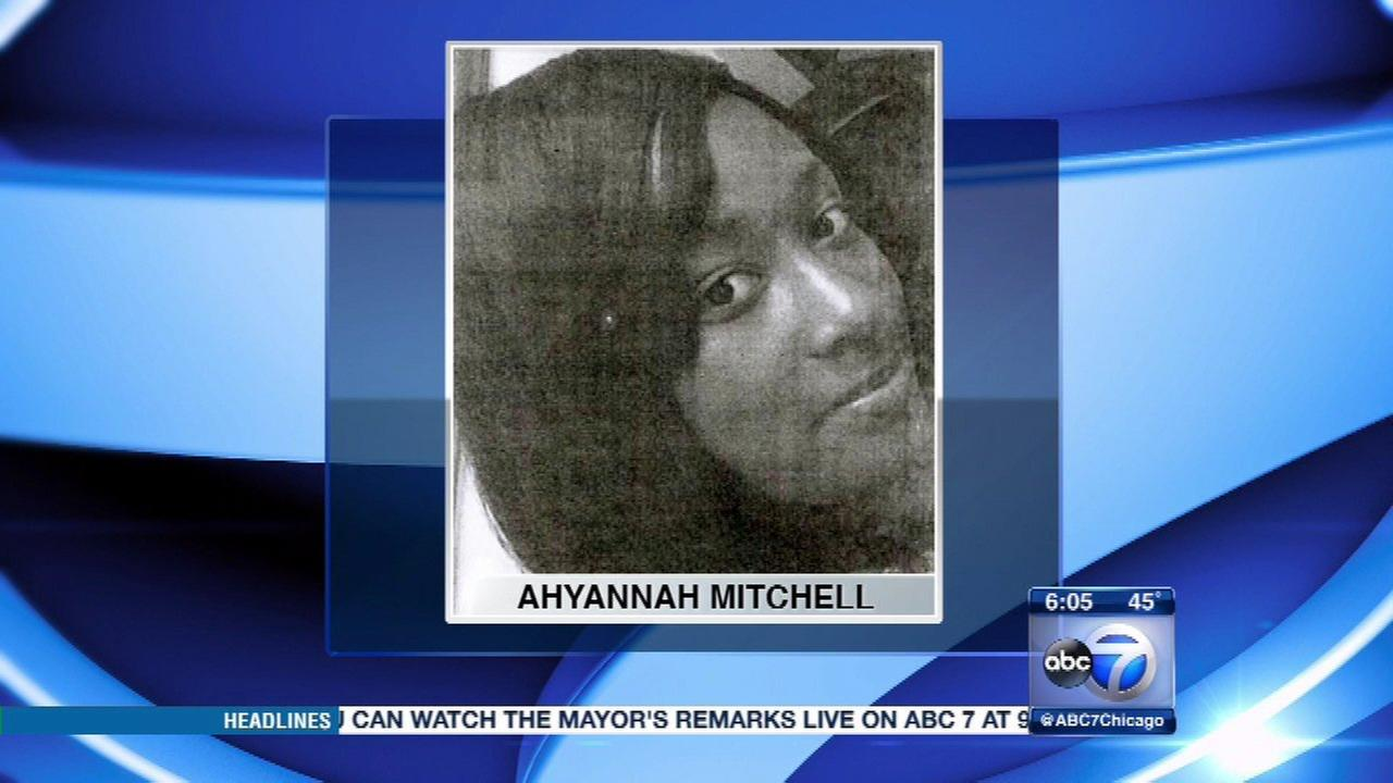 Ahyannah Mitchell, 17, has been missing from Chicagos Englewood neighborhood for two weeks.