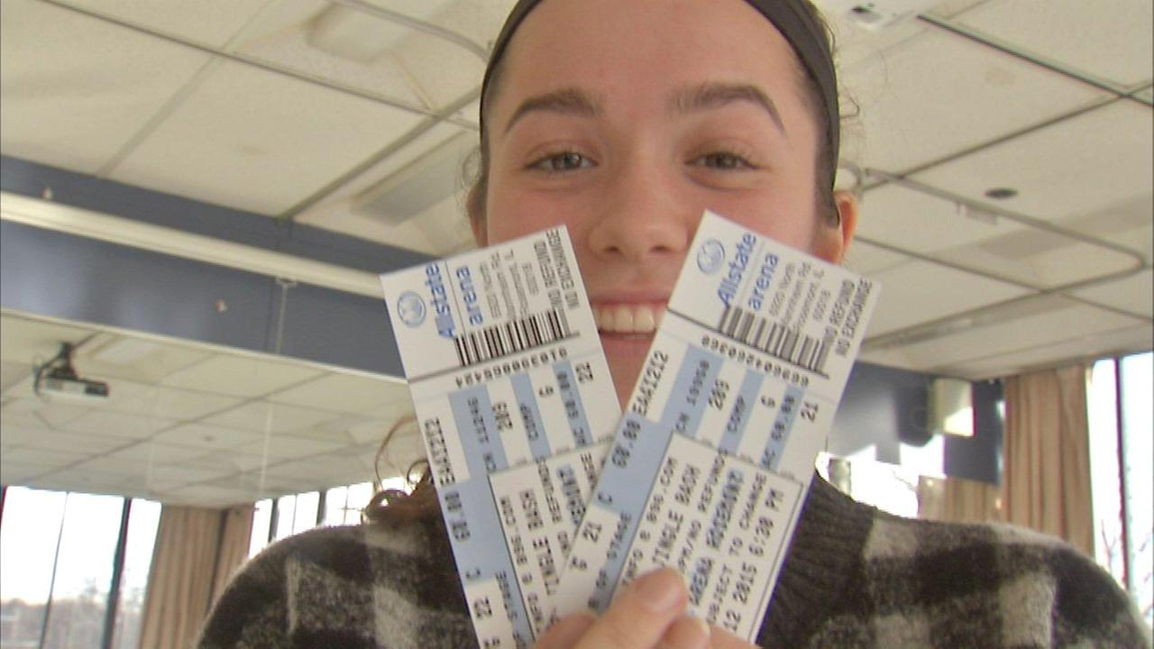 Local student athlete wins tickets to B-96 Jingle Bell Bash
