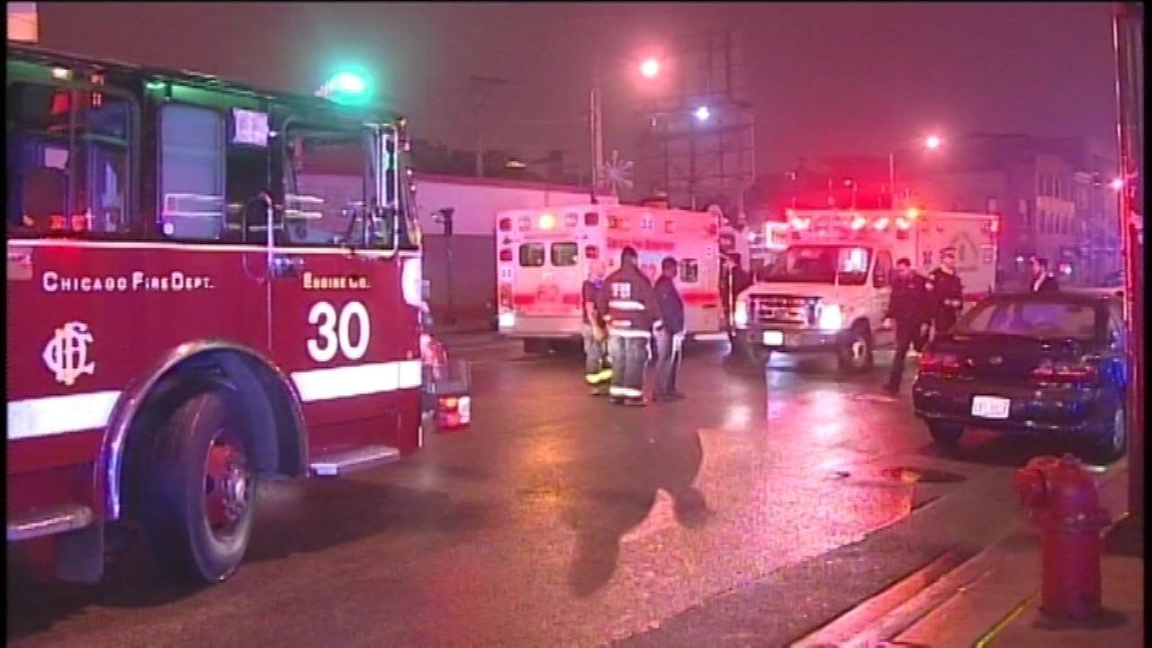 Three pedestrians struck at Ashland and Divsion
