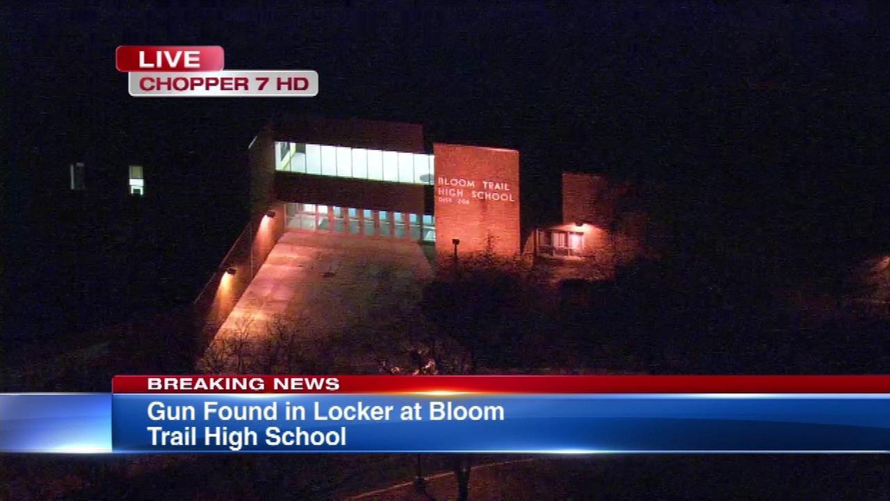 Gun found in Bloom Trail HS locker, 2 students arrested