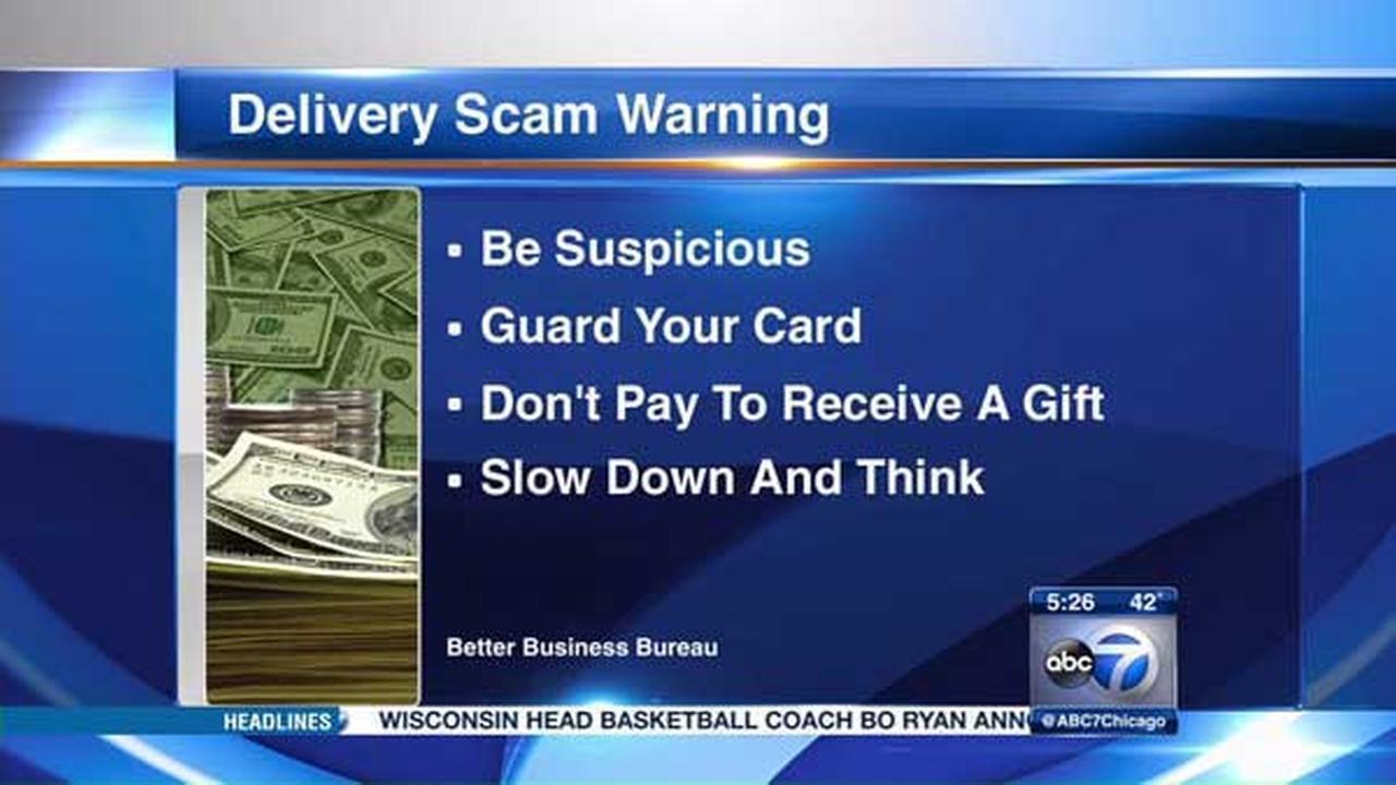 BBB warns of new delivery scam