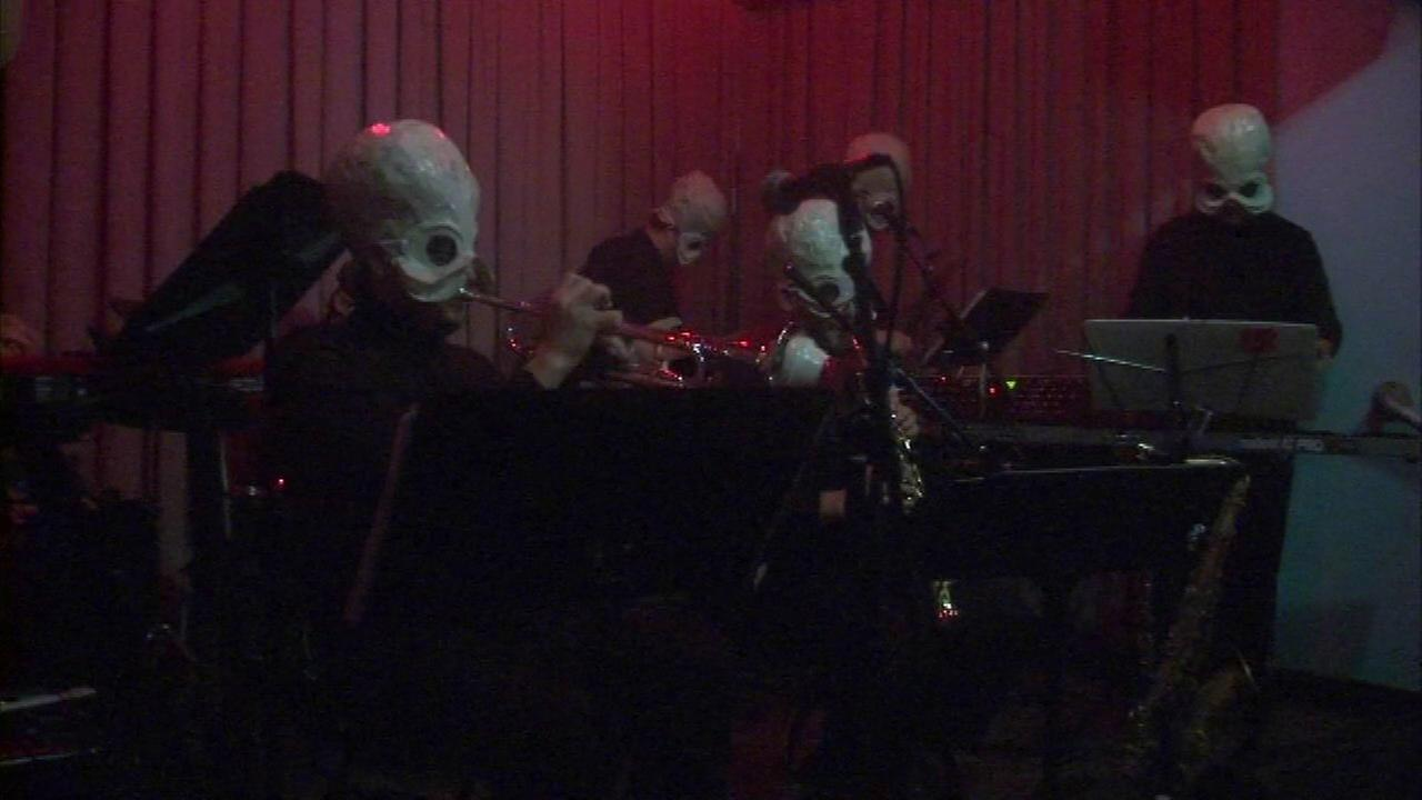 A band helped turn The Whistler in Logan Square into the cantina made famous in the first Star Wars movie.