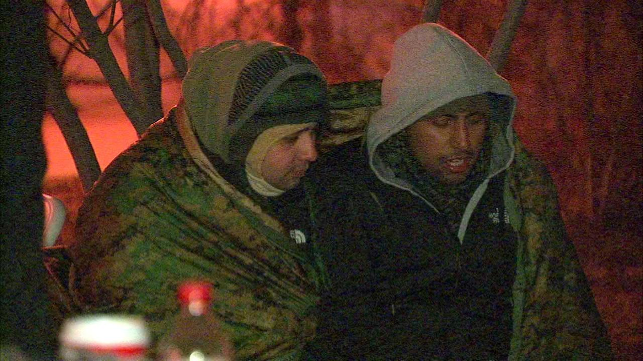 The third annual Public Sleep Out event raises awareness about homeless veterans.