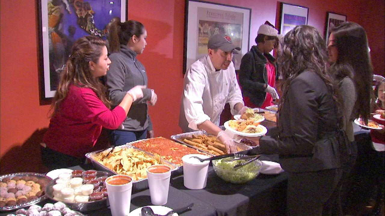 Nuevo Leon employees gather for holiday party after devastating fire