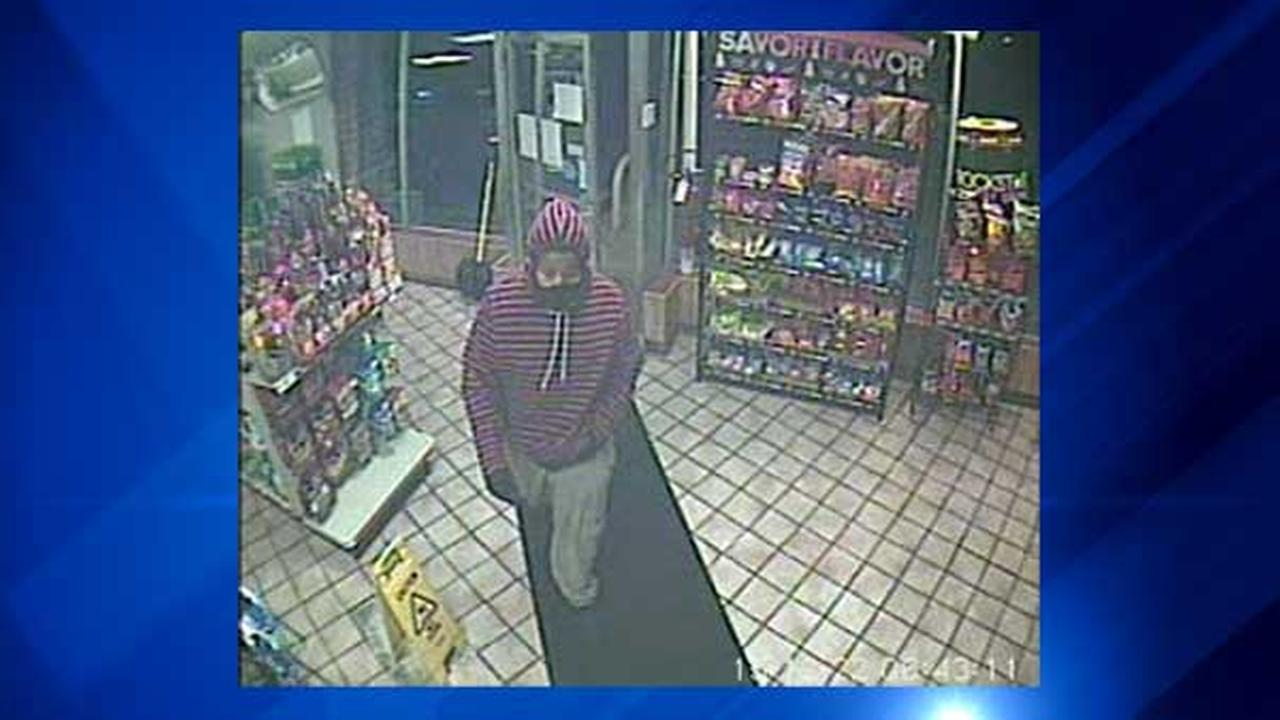 Police in Highland, Indiana, are asking for the publics help to identify a man who robbed a gas station at gunpoint.