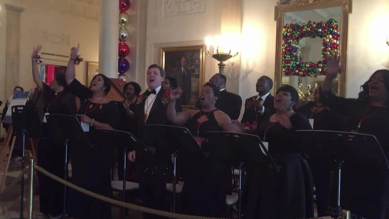 Chicago choir sings at White House