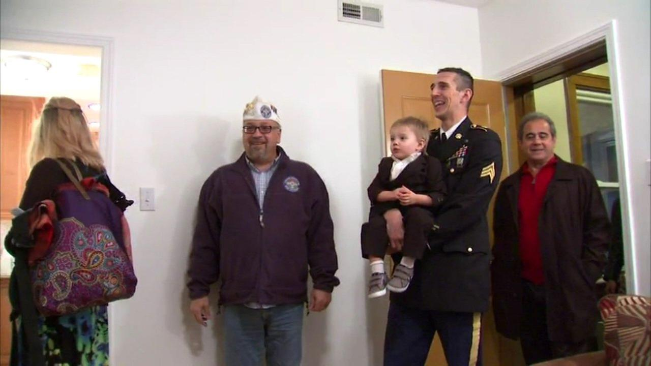 City of Berwyn gives condo to disabled Army vet, family