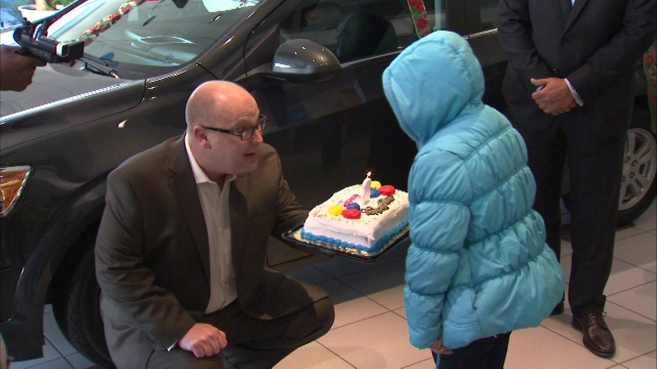 Oak Forest family wins new car for Christmas