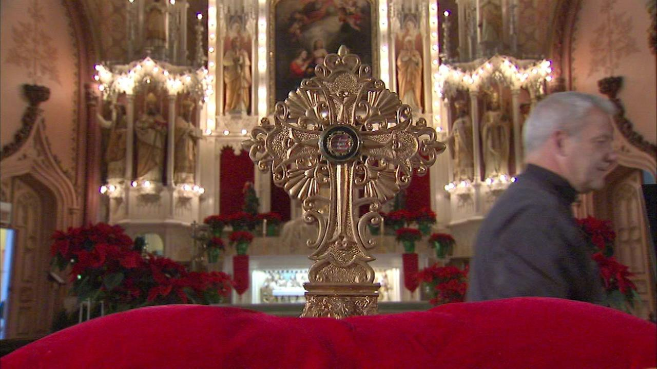 Holy Catholic relics on display Sunday in Chicago
