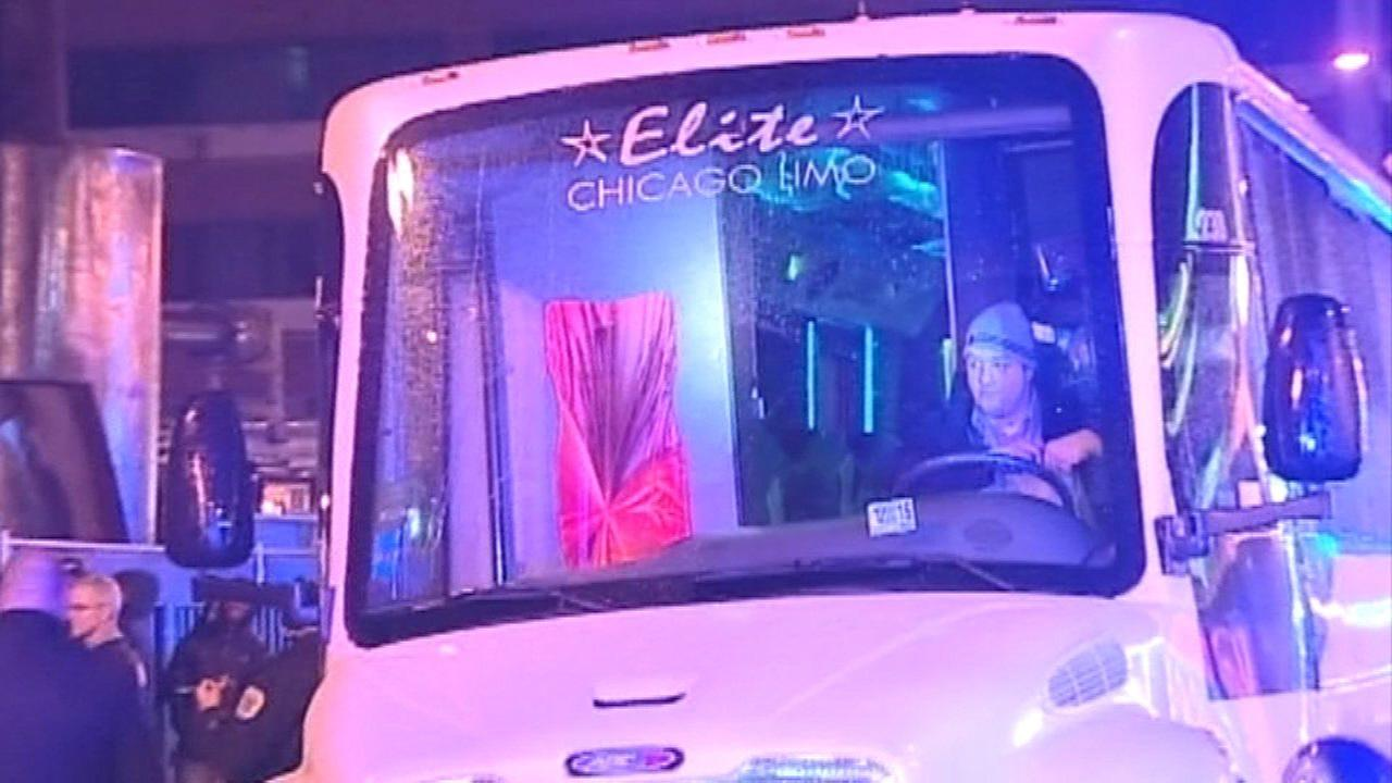 Party bus apparently involved in Gold Coast shooting