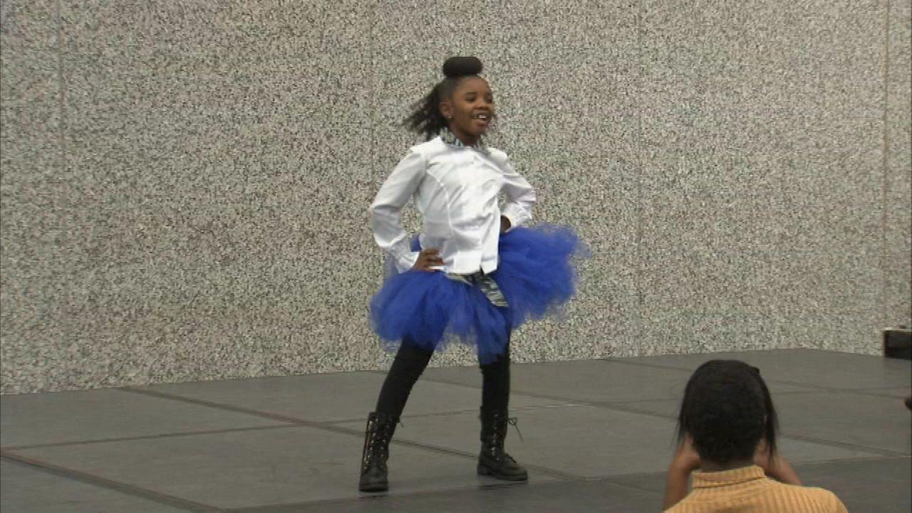 Some young talent showed off their skills at the Holiday Youth Fashion and Talent Show in the Loop.