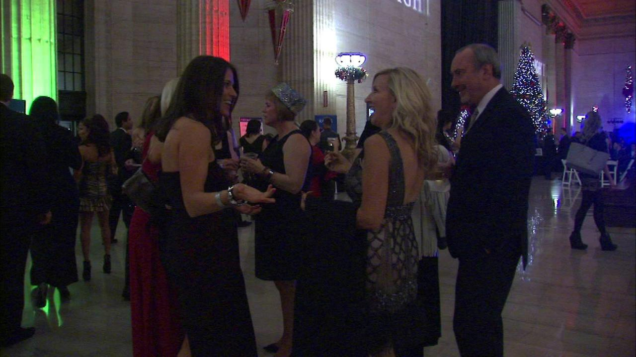 The new year isnt here yet, but many celebrated a day early at the Eve of the Eve event at Union Station.