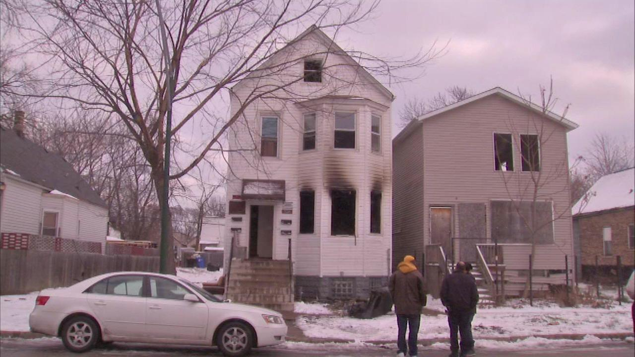 Officer injured in South Side house fire