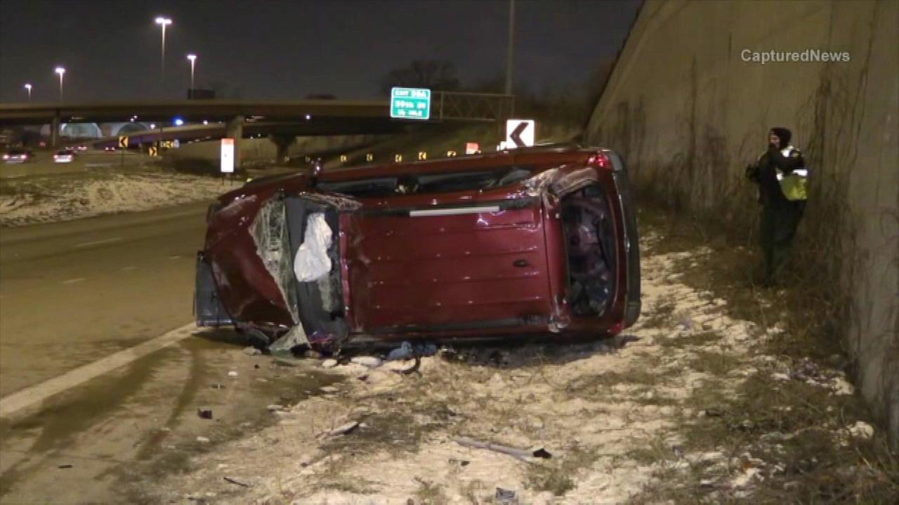 1 dead in Dan Ryan crash at 63rd
