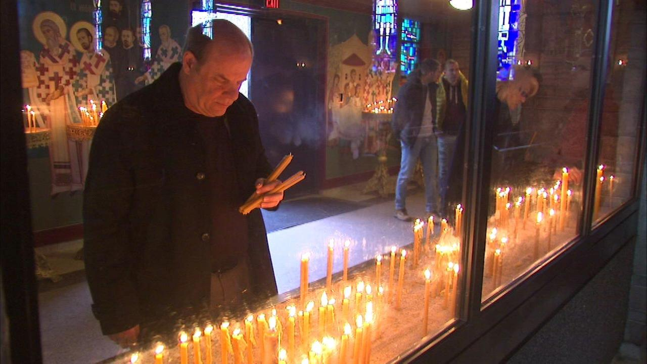 Orthodox Christians celebrate Christmas Day