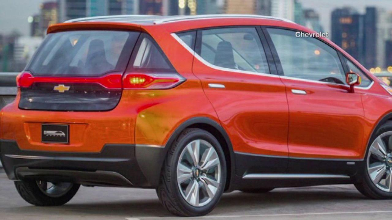 Chevrolet Bolt is GM's first long-range electric car at $30K