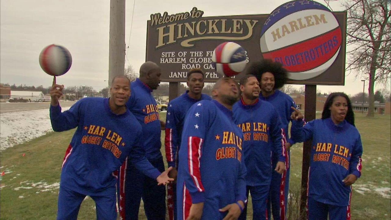 The Harlem Globetrotters returned to their roots with a stop in DeKalb County.