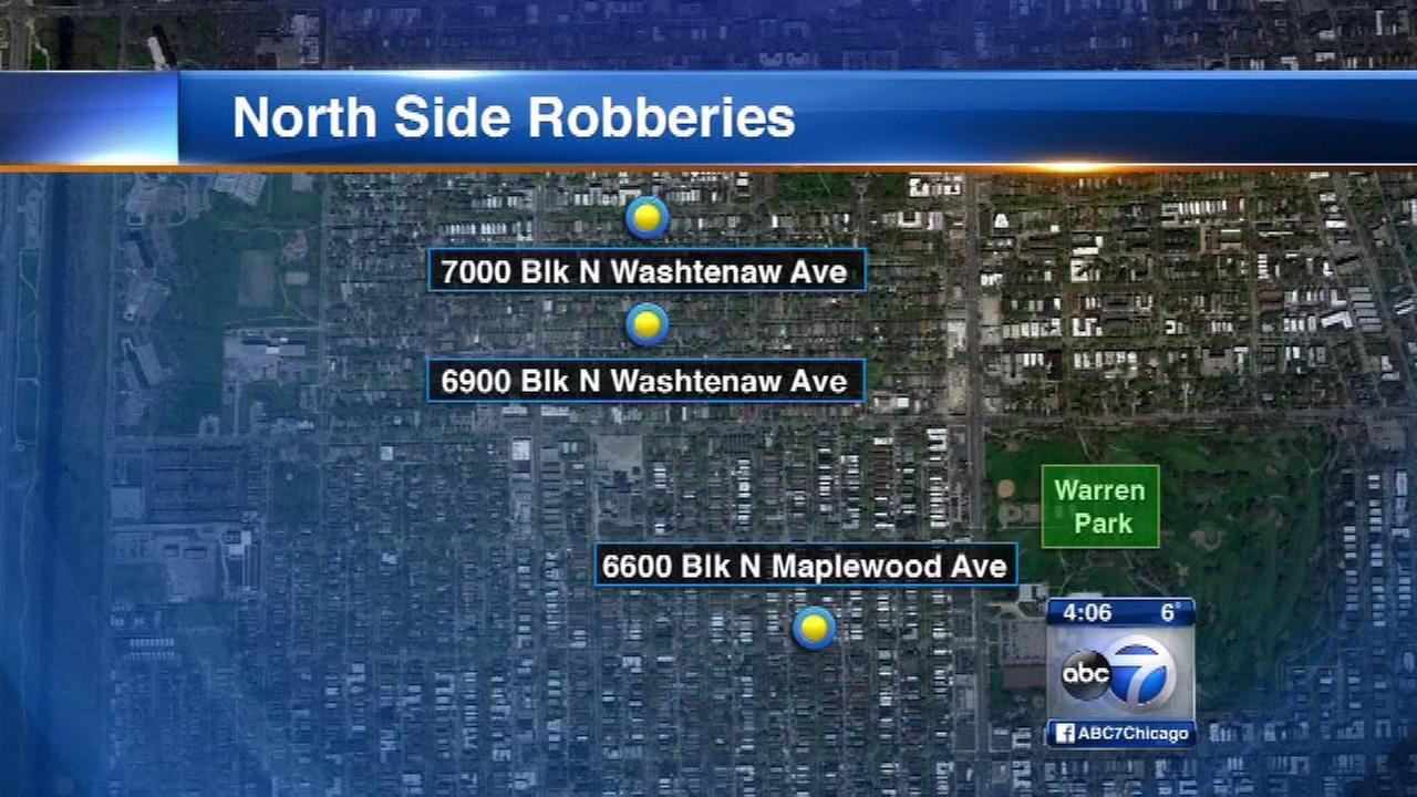 Police issue alert after string of West Ridge armed robberies