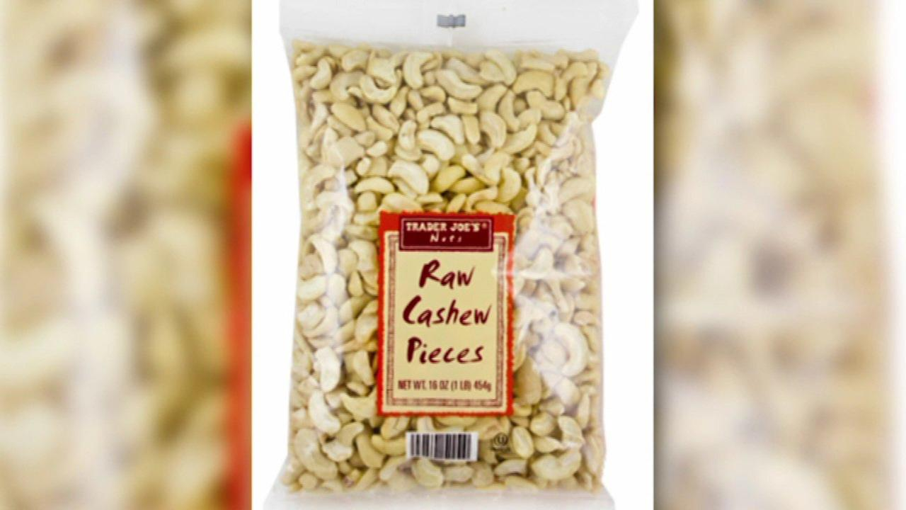 Trader Joe's recalls raw cashews