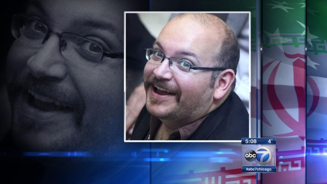 Jason Rezaian, a Washington Post reporter who was released from an Iranian prison