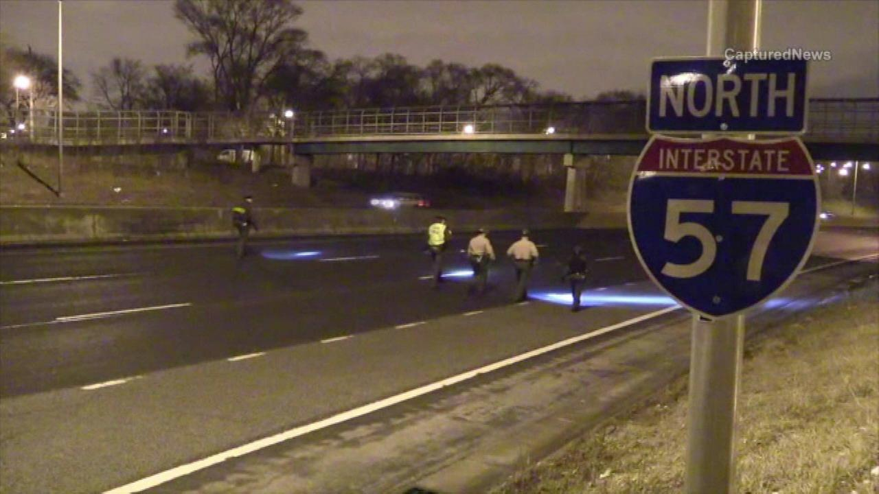 One wounded in I-57 shooting in East Beverly