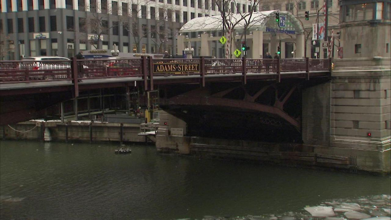 The Adams Street Bridge will close to traffic after the Monday evening rush. Work on the busy bridge near Union Station is expected to last 13 months.