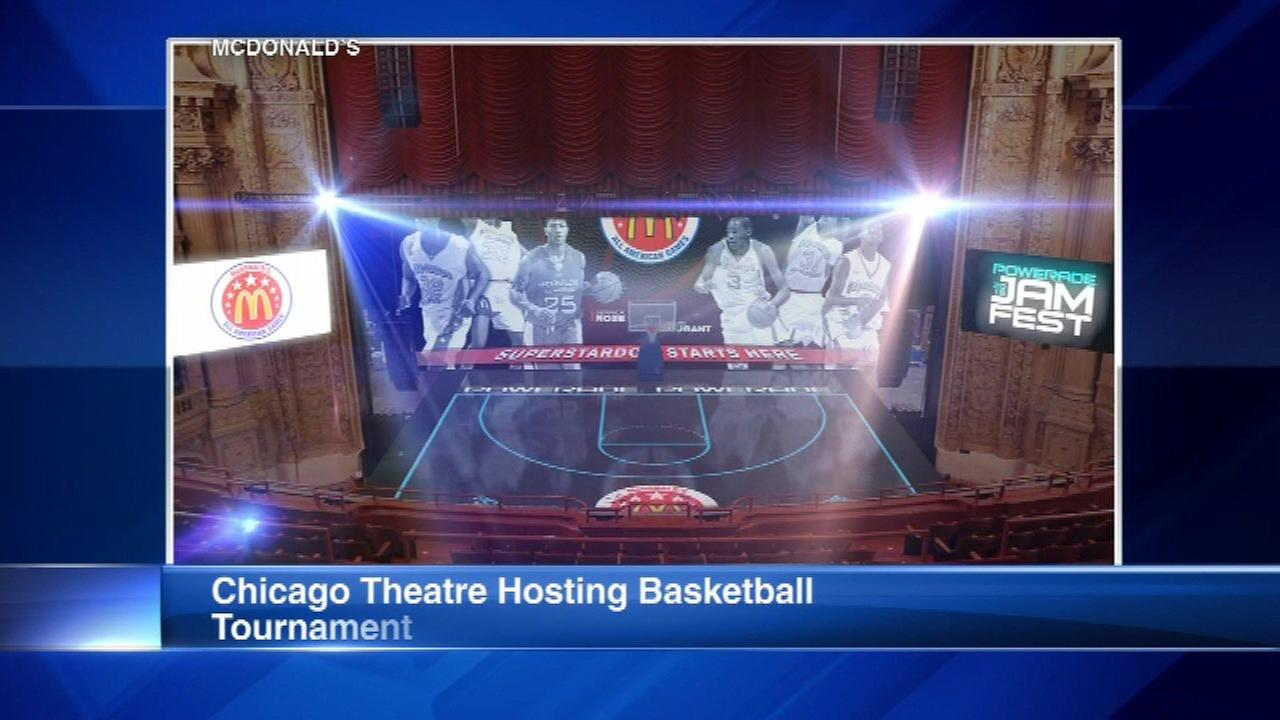 Chicago Theatre to host high school basketball tourney