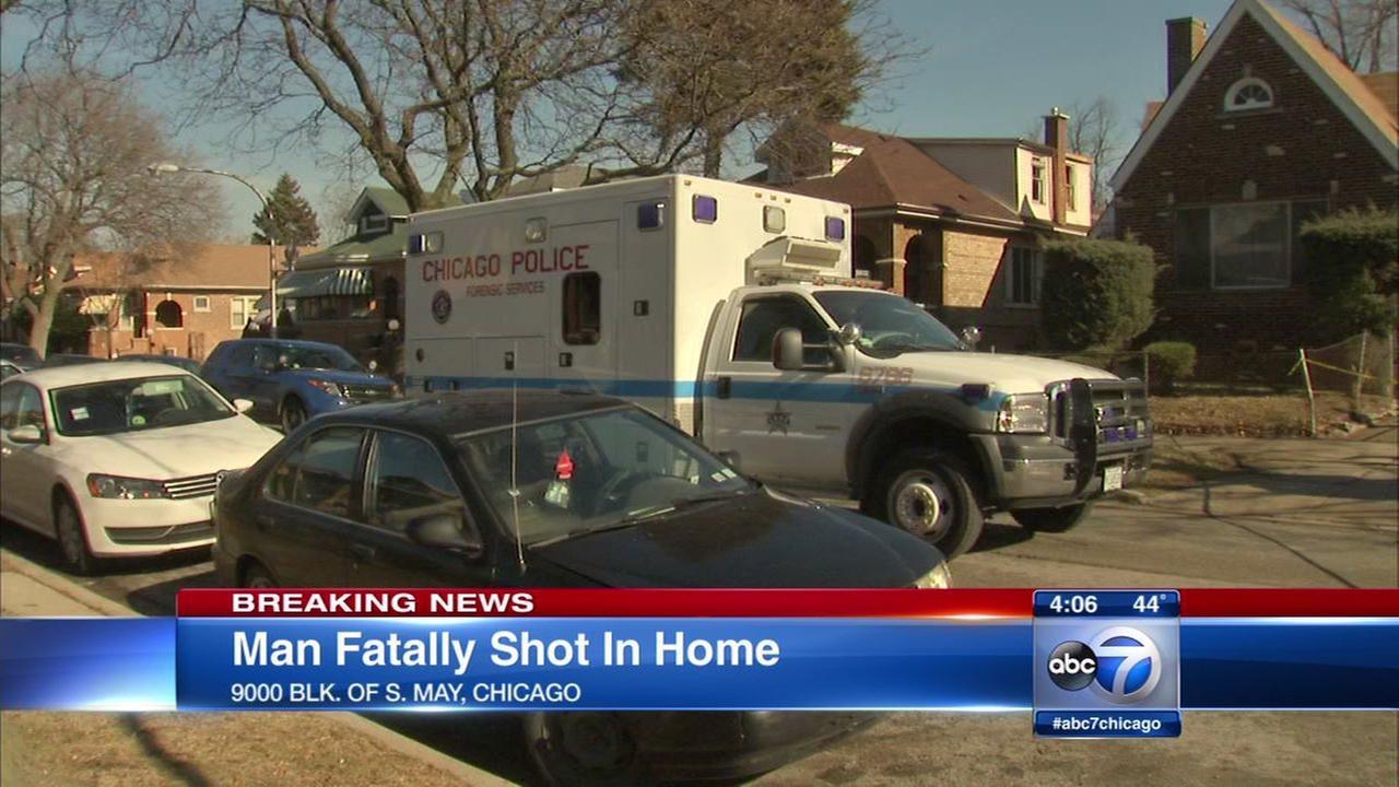 Homeowner fatally shot in South Side doorway