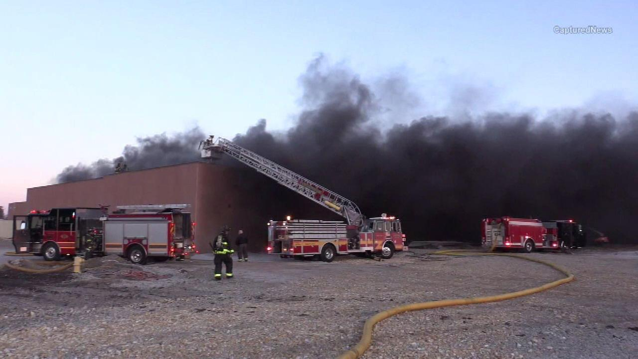 Fire breaks out at Walmart store in Olympia Fields