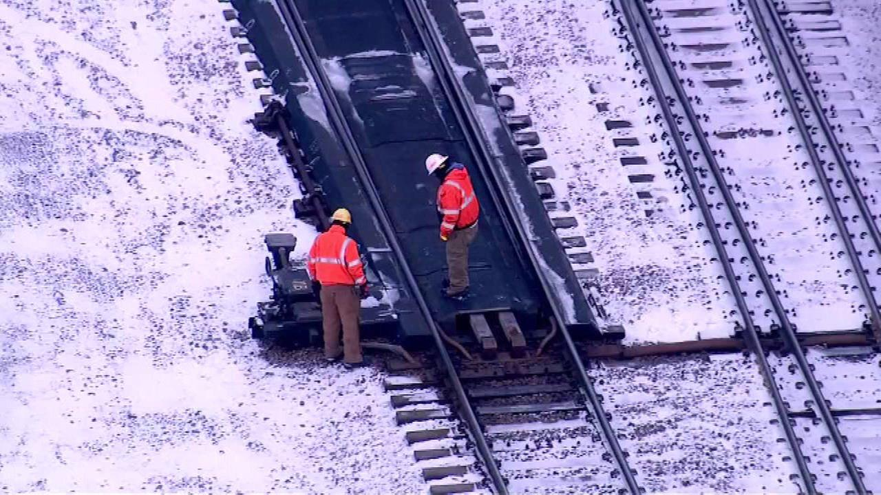 Fire on Metra UP-West Line damages switching 'nerve center'