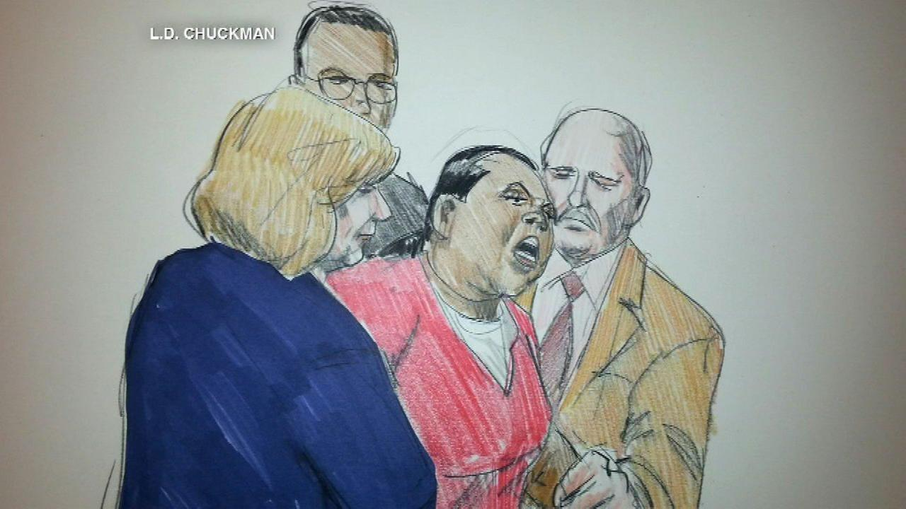 Outburst in court by woman charged in Endia Martin death