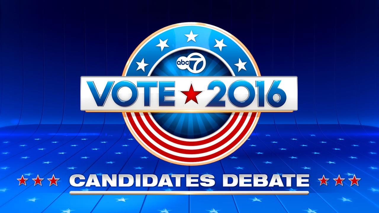 Vote 2016 U.S. Senate debate on ABC7 Chicago