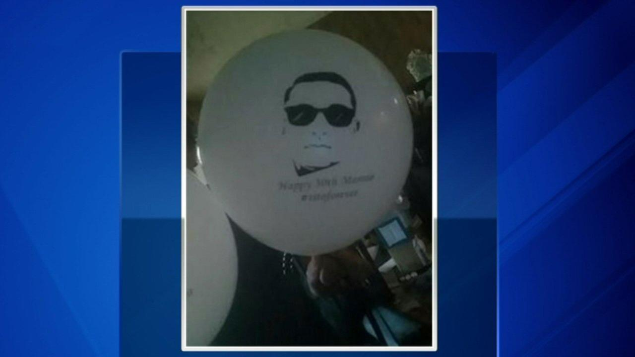 Balloon from ceremony honoring fallen officer found in Pennsylvania