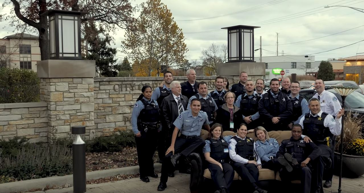 Highland Park police release 'lip sync challenge' video with a message