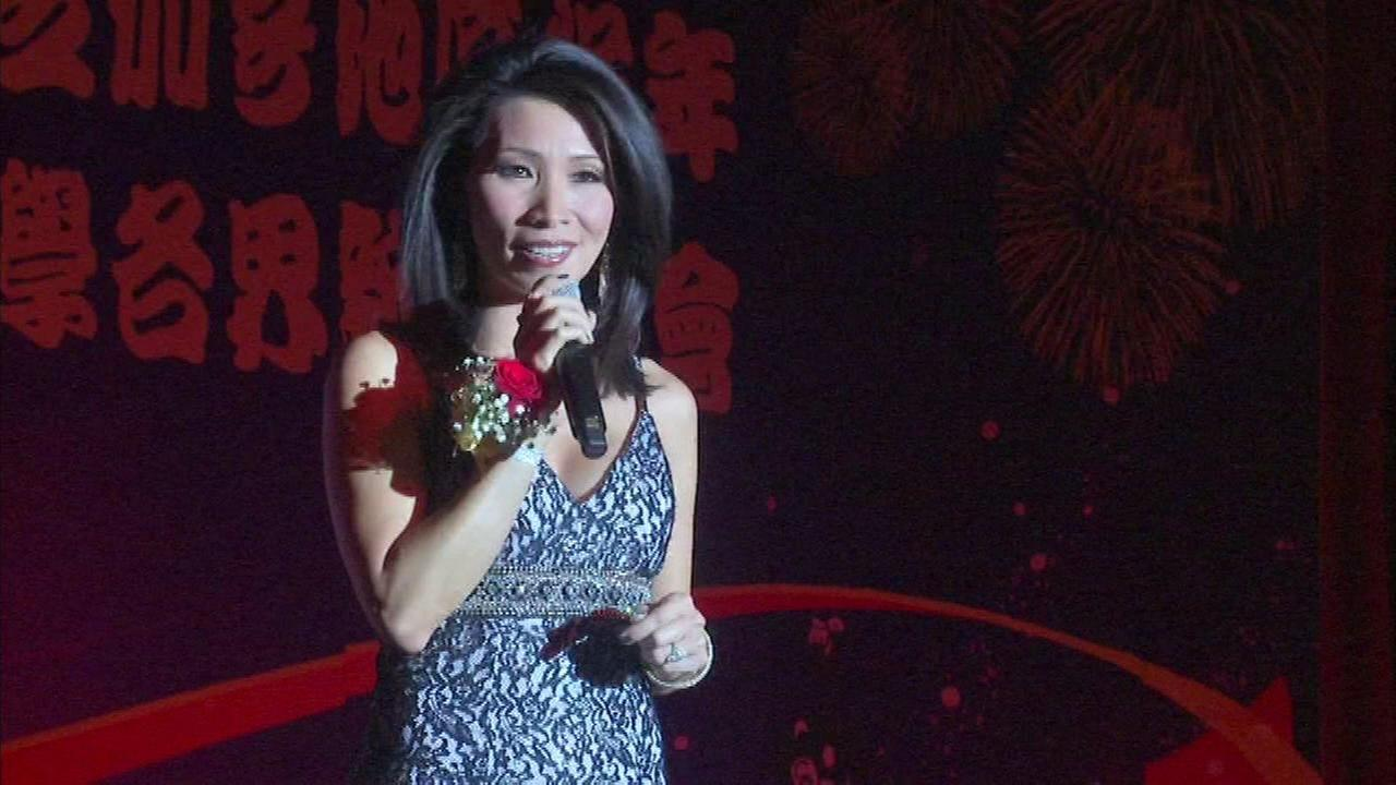 ABC7 anchor Judy Hsu emcees Chinese New Year event